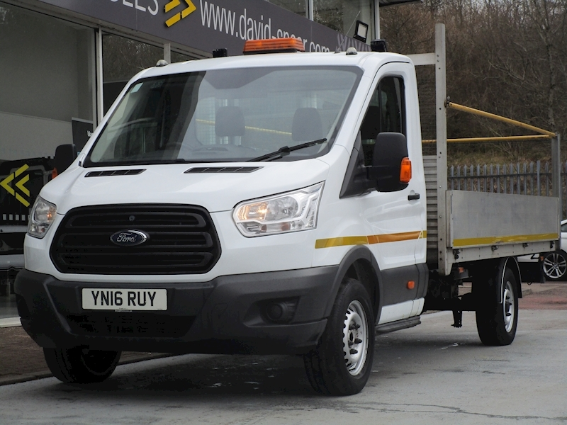 Transit Tdci 125ps 350 Xlwb 13.5 ft Bed Single Cab Dropside with Reversing Camera & Rear LED Lights 2.2 2dr Dropside Manual Diesel
