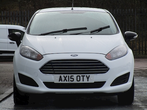 Fiesta Tdci 75ps Base with R/Parking Sensors 1.5 3dr Car Derived Van Manual Diesel