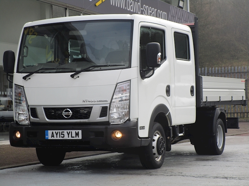 Nt400 Cabstar Dci 136ps 35.14 6 Seat Double Cab Tipper with Twin Rear Wheels 2.5 4dr Tipper Manual Diesel