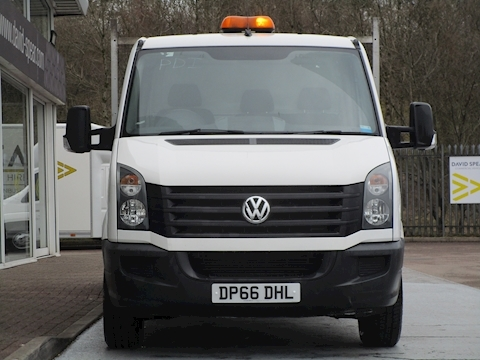 Crafter Tdi 140ps Lwb Dropside Pick Up with Tow Bar 2.0 2dr Dropside Manual Diesel
