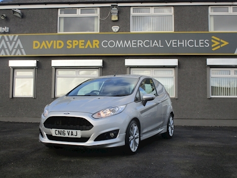 Fiesta Tdci 95ps Sport Van With NO VAT, Air Con & Alloy Wheels! 1.5 3dr Car Derived Van Manual Diesel