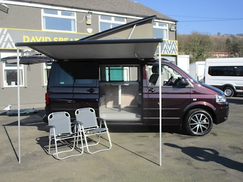 California Tdi 180ps Se  Full Factory 4 Berth Camper with NO VAT 2.0 5dr Specialist Vehicle Automatic Diesel
