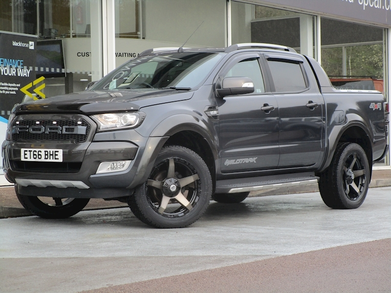 Ranger Tdci 200ps Full Raptor Wildtrak 4X4 Double Cab Pick Up with Rev Cam & Sat Nav 3.2 4dr Pickup Automatic Diesel