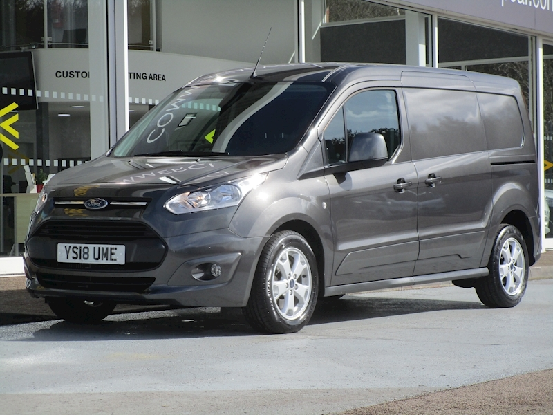 Transit Connect Tdci 120ps 240 Limited L2 Lwb With Air Con & Alloy Wheels 1.5 5dr Panel Van Manual Diesel