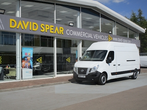 Nv400 Dci 125ps SE L3H3 Lwb Extra High Roof With Only 7K 2.3 Panel Van Manual Diesel