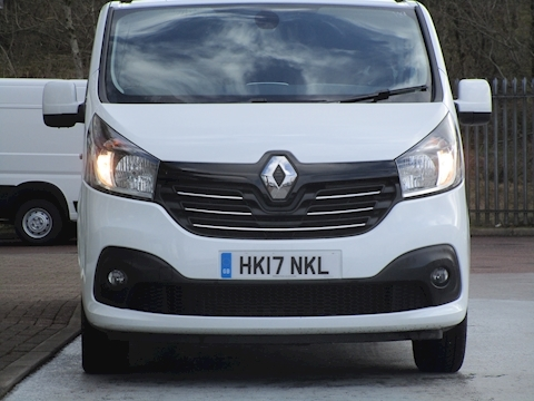 Trafic Dci 125ps Ll29 Sport L2 Lwb 6 Seat Double Crew Cab With Sat Nav, Alloys & Air Con 1.6 6dr Combi Van Manual Diesel