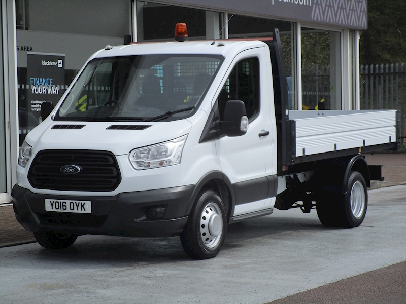 Transit Tdci 125ps 350 Single Cab Tipper with Twin Rear Wheels & Tow Bar 2.2 2dr Tipper Manual Diesel