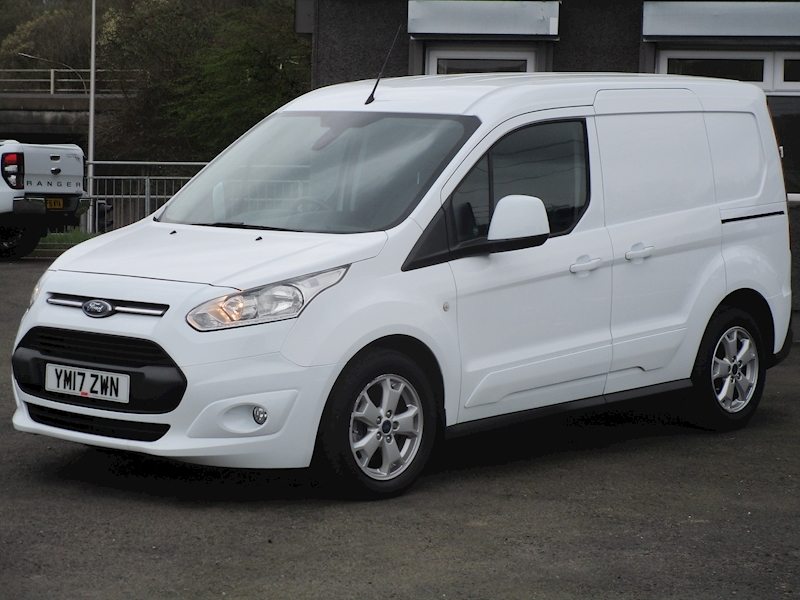 Transit Connect Tdci 120ps 200 L1 Limited Panel Van with Air Con & Alloy Wheels 1.5 5dr Panel Van Manual Diesel