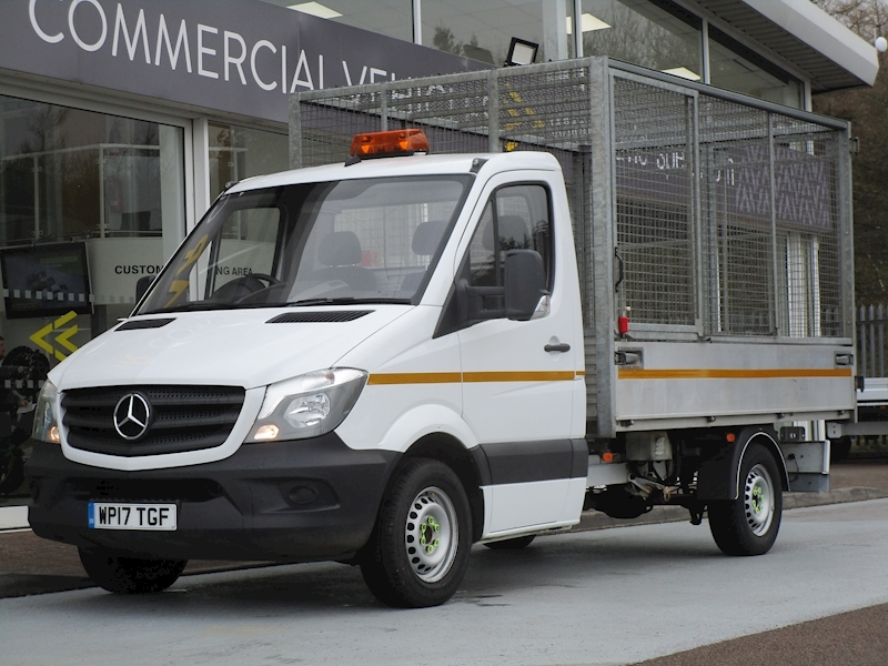 Sprinter Cdi 140ps 314 Single Cab Tipper with Removable Cage 2.1 2dr Tipper Manual Diesel