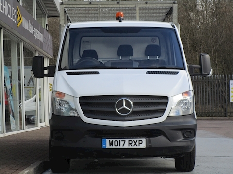 Sprinter Cdi 140ps 314 Single Cab Tipper with Removable Cage & Secure Storage Unit 2.1 2dr Tipper Manual Diesel