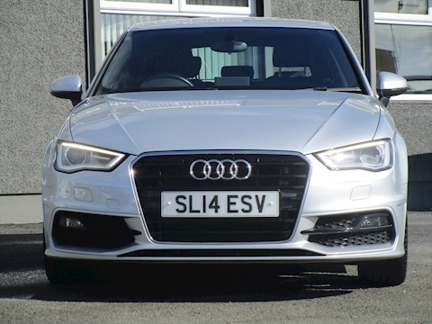 A3 Tdi S Line with Full Leather Interior and Sat Nav 1.6 5dr Hatchback Manual Diesel