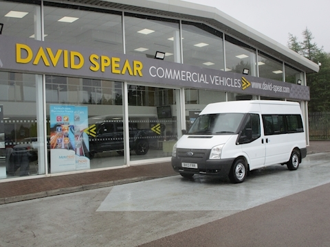 Transit Tdci 140ps 300 Mwb Med Roof 9 Seater Shuttle Minibus 2.2 5dr Minibus Manual Diesel