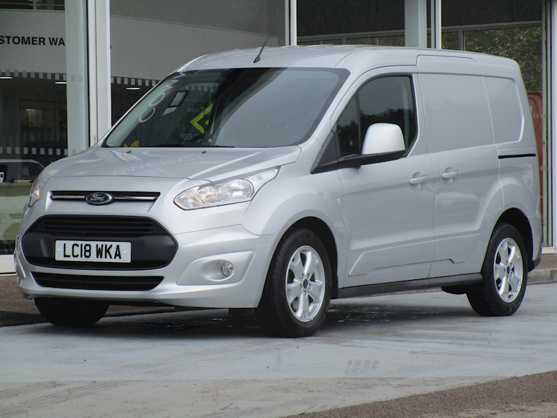 Transit Connect Tdci 120ps 200 Limited  L1 Swb with Air Con Alloys Sat Nav & Rev Cam 1.5 5dr Panel Van Manual Diesel
