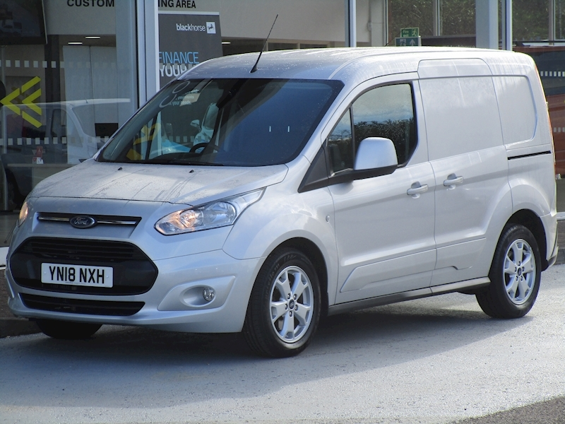 Transit Connect Tdci 120ps 200 Limited L1 Swb With Air Con, Sat Nav & Rev Cam 1.5 5dr Panel Van Manual Diesel