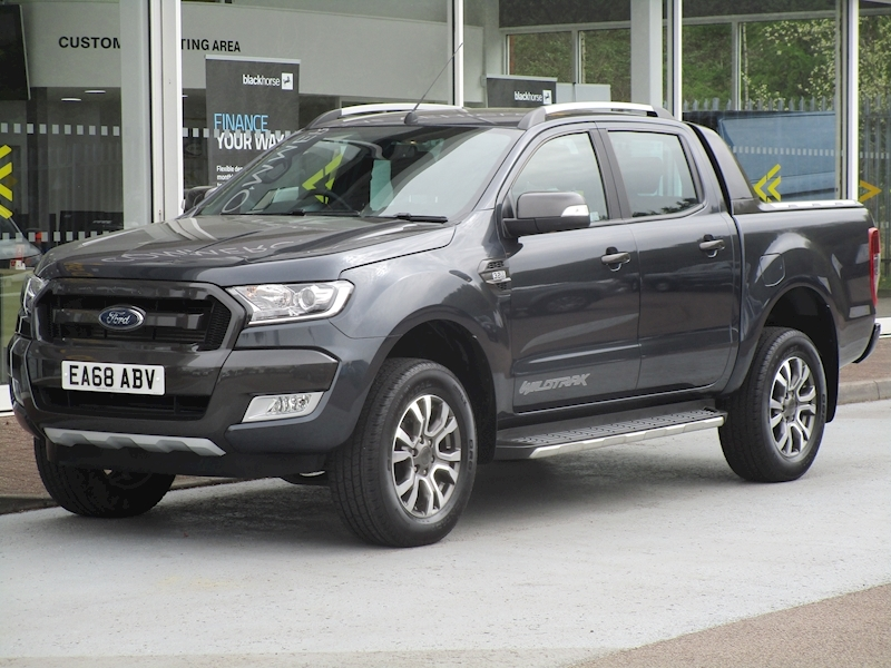 Ranger Tdci 200ps Wildtrak 4X4 Double Cab Pick Up with Sat Nav & Rev Cam 3.2 5dr Pickup Manual Diesel