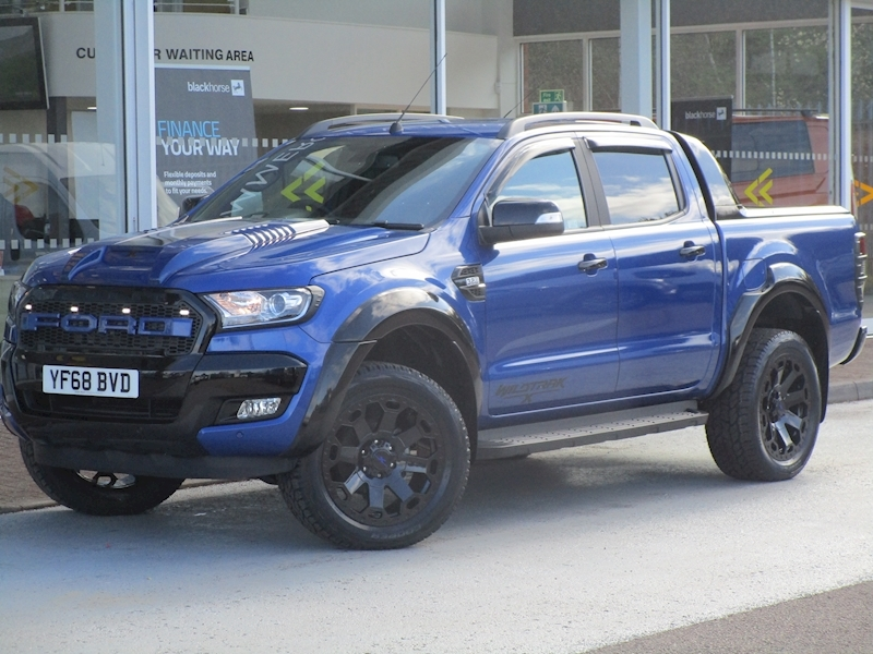 Ranger Tdci 200ps Special Edition Raptor Wildtrak X 4X4 with Sat Nav, Rev Cam  & Roll' n 'Lock Cover 3.2 5dr Pickup Automatic Diesel