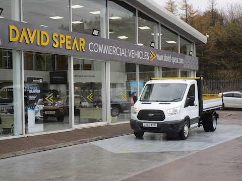 Transit Tdci 125ps 350 Single Cab 1 Stop Tipper With Twin Rear Wheels & Tow Bar 2.2 2dr Tipper Manual Diesel