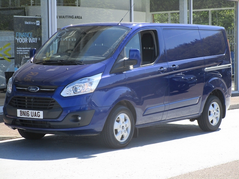 Transit Custom Tdci 125ps 290 Limited L1 Swb With Air Con, Alloys & Tow Bar 2.2 5dr Panel Van Manual Diesel