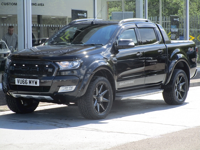 Ranger Tdci 200ps Full Raptor Wildtrak 4x4 Double Cab Pick Up with RollnLock & Tow Bar 3.2 5dr Pickup Automatic Diesel