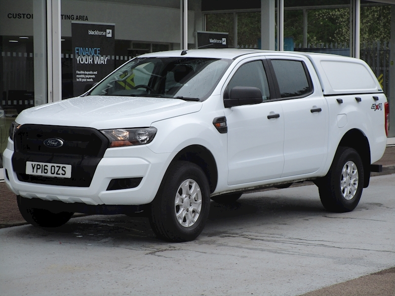 Ranger Tdci 160ps Xl 4X4 Double Cab Pick Up with Alloys & Canopy 2.2 5dr Pickup Manual Diesel