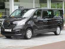Renault Trafic Dci 125ps Ll29 Sport L2 Lwb 9 Seat Passenger Bus With Air Con, Sat Nav & Alloys 1.6 5dr Minibus Manual Diesel