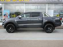 Ford Ranger Tdci 160ps Limited Raptor 4X4 Double Cab Pick Up With Roll n Lock Cover & Chrome Roll Bars 2.2 4dr Pickup Automatic Diesel