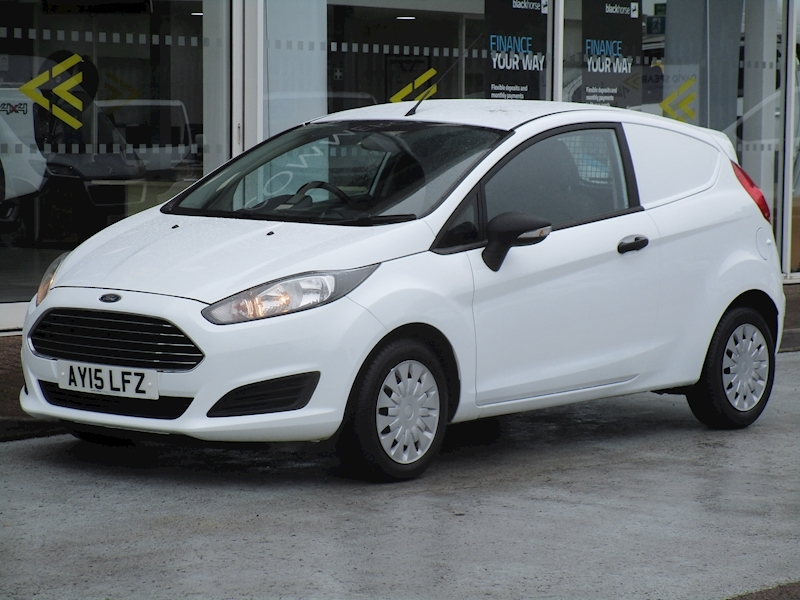 Fiesta Tdci 95ps Econetic Swb 1.6 3dr Car Derived Van Manual Diesel