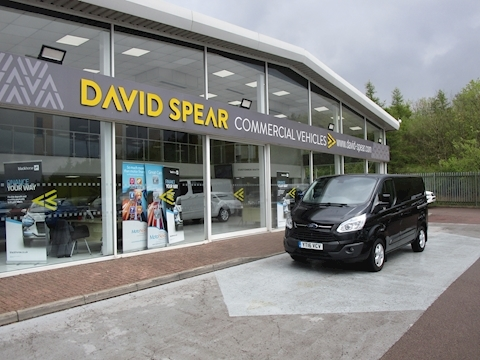 "Transit Custom Tdci 125ps 270 Limited L1 Swb With Air Con & 16"" Alloy Wheels 2.2 5dr Panel Van Manual Diesel"