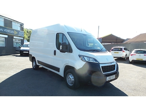 Boxer Hdi 130ps 335 L2h2 Professional Mwb Med Roof With Air Con & Sat Nav 2.0 5dr Panel Van Manual Diesel
