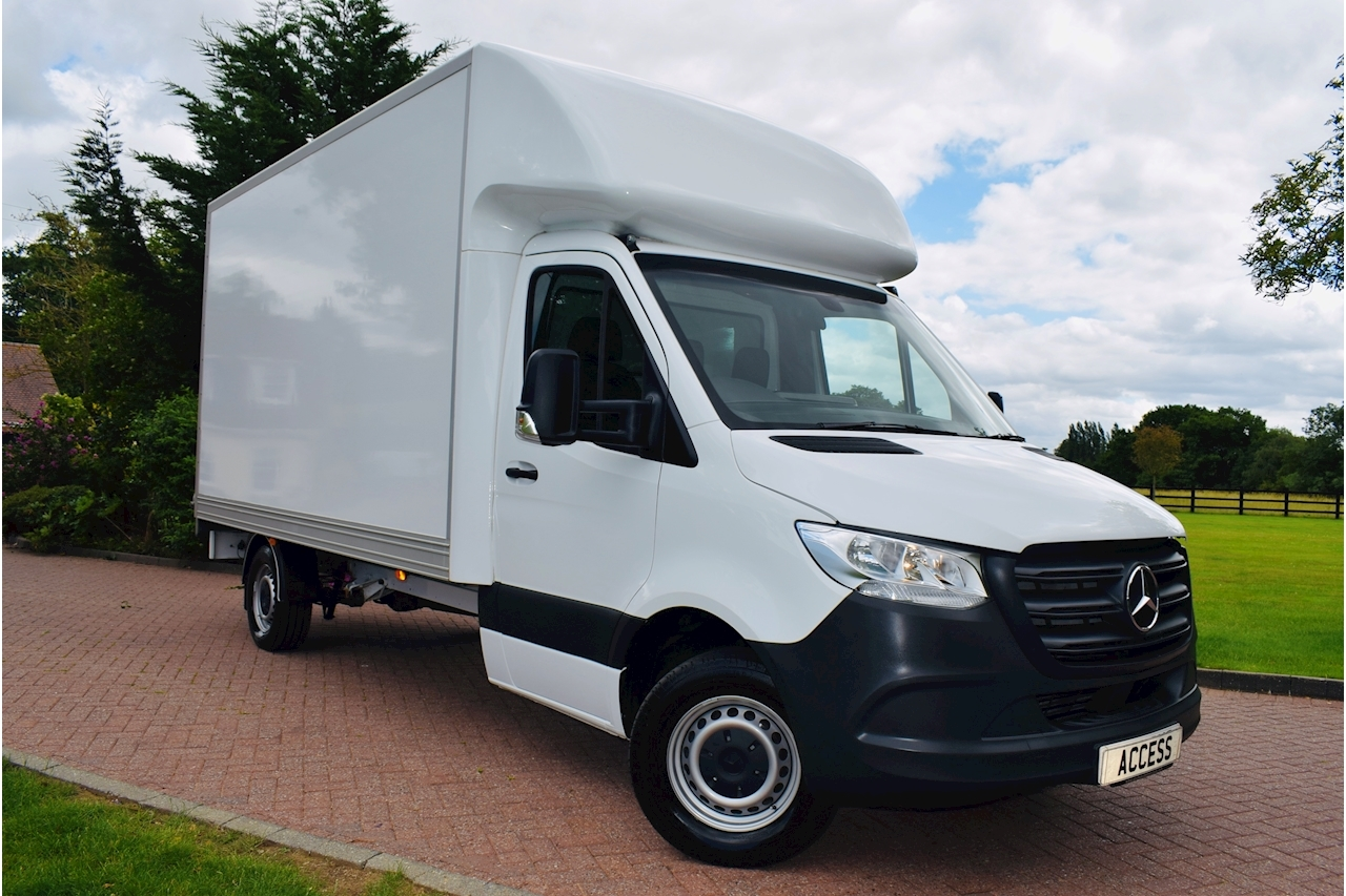 Mercedes-Benz Sprinter 314 Cdi Luton Van 2.1 Manual Diesel ULEZ  with 500kg Tail Lift