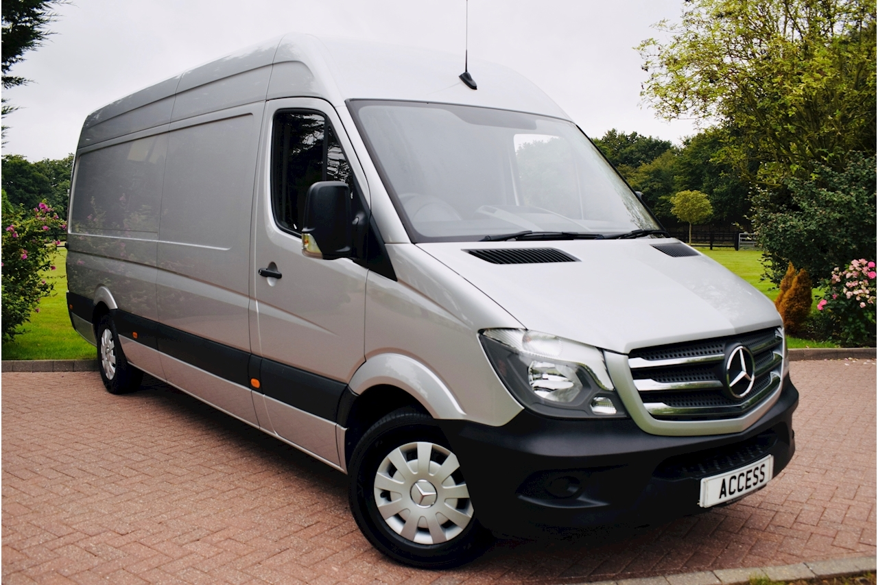 Mercedes-Benz Sprinter 314Cdi Blueefficiency Panel Van 2.1 Manual Diesel