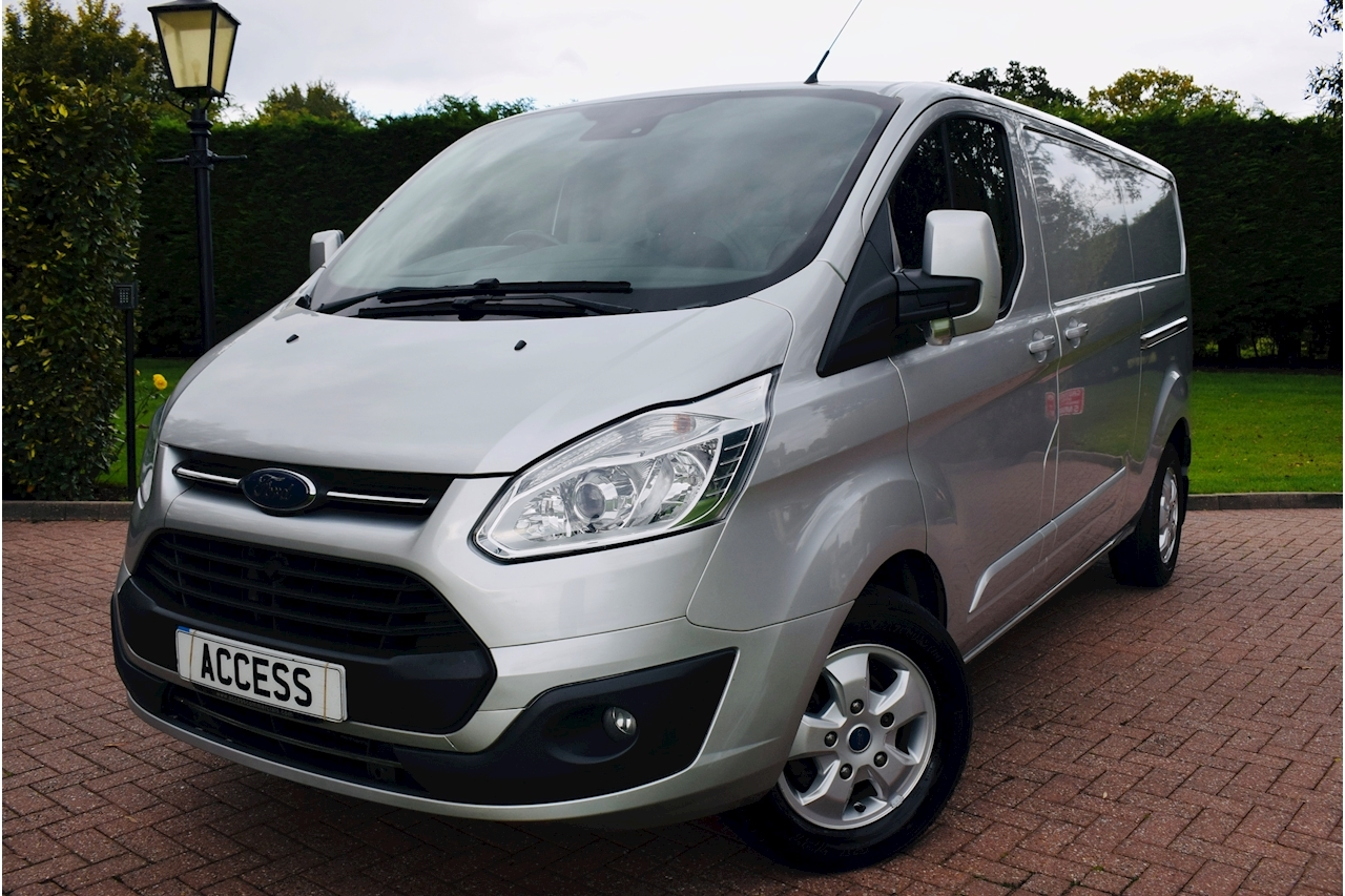 Ford Transit Custom 290 Limited Lr Dcb Panel Van 2.0 Manual Diesel air con