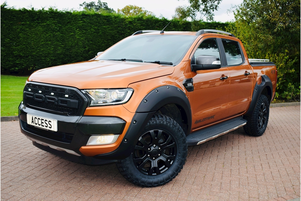 Ford Ranger Wildtrak 4X4 Dcb Tdci 3.2 4dr 4x4 Automatic Diesel