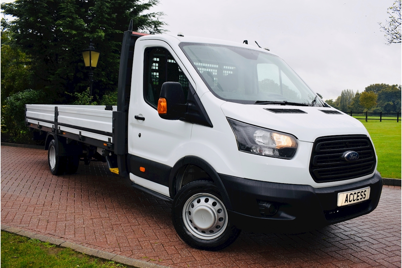 Ford Transit 350 L5 C/C Dropside  2.0 Manual Diesel 17ft alloy body DRW EXLWB