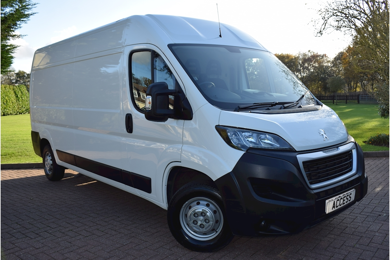 Peugeot Boxer Blue Hdi 335 L3h2 Professional P/V Panel Van 2.0 Manual Diesel