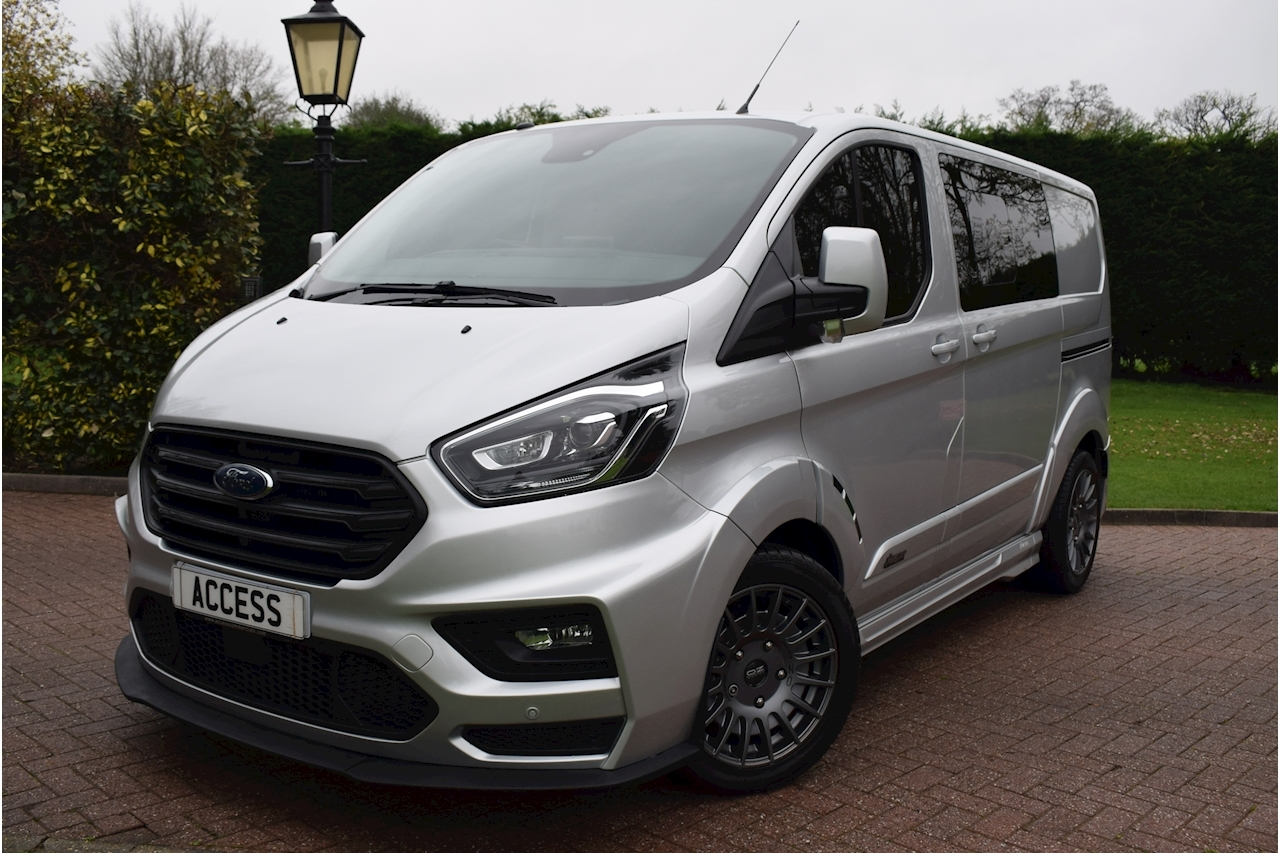 Ford Transit Custom 320 Motor Sport Limited MS-RT Dciv L1 H1 2.0 Crew Van Manual Diesel