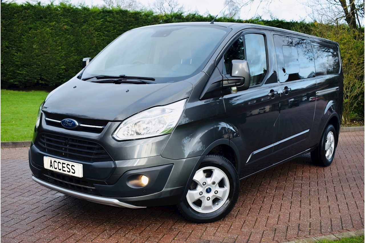 Ford Transit Custom 290 Limited Lr Dcb Crew  Van 2.0 Manual Diesel Air Con