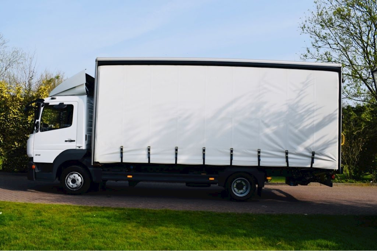 Mercedes-Benz Atego 816 5.1 Curtain-Sided Automatic Diesel