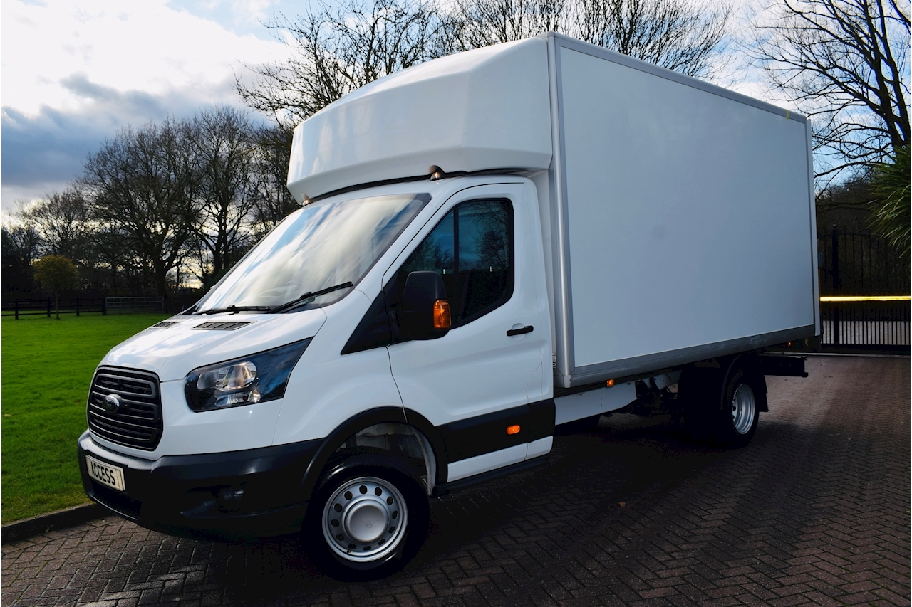 Ford Transit 350 L5 C/C 2.0 Luton 6 Speed Manual Diesel