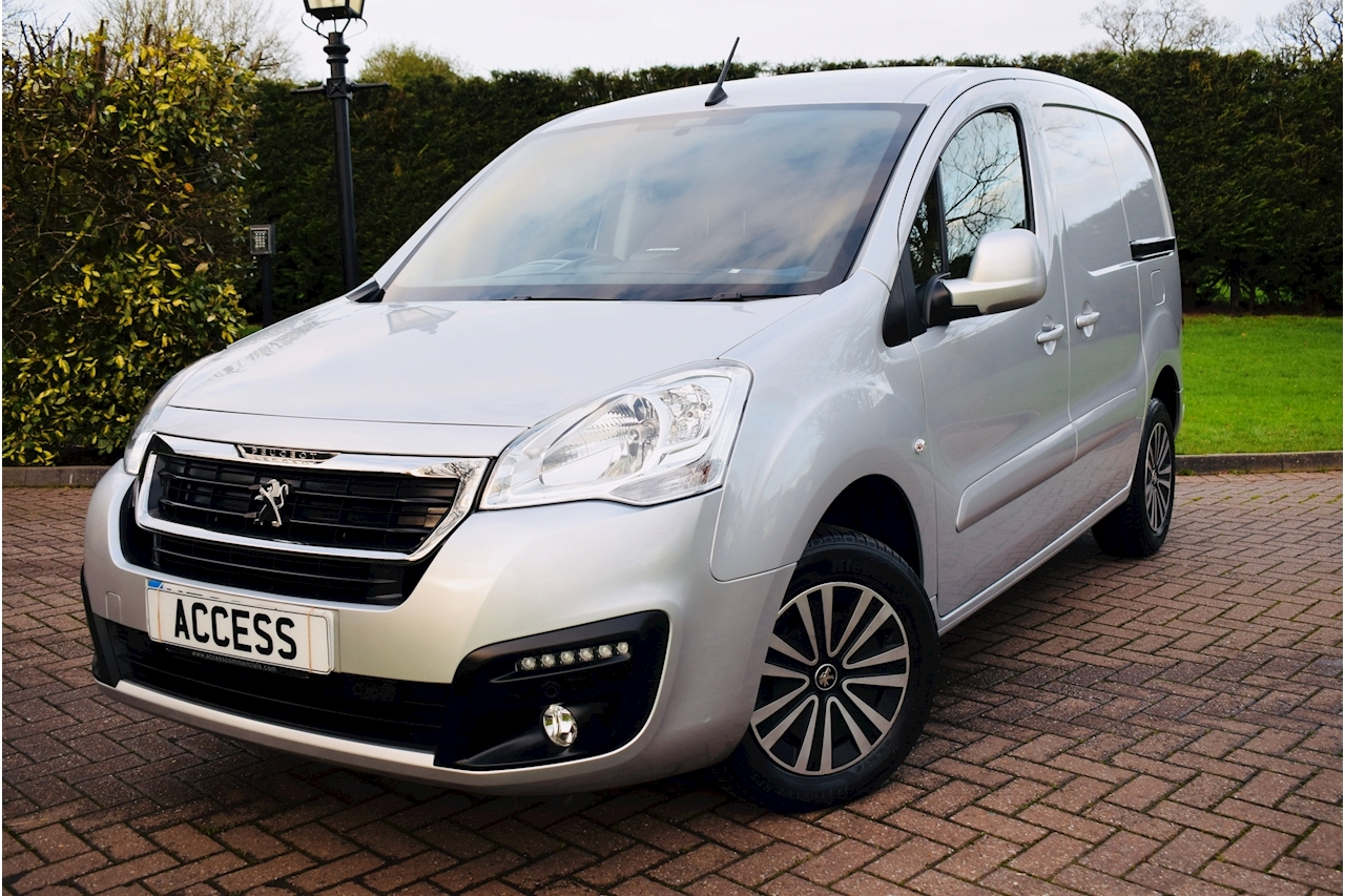 Peugeot Partner Blue Hdi Professional With Appearance Pack Panel Van 1.6 Manual Euro 6