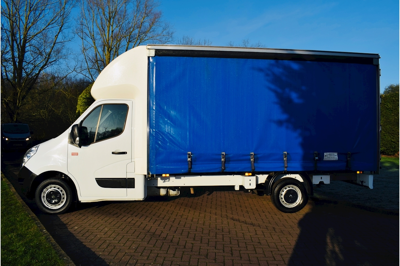 Renault Trucks Master 35 L3h1 C/C Curtain-Sided 2.3 Manual Diesel