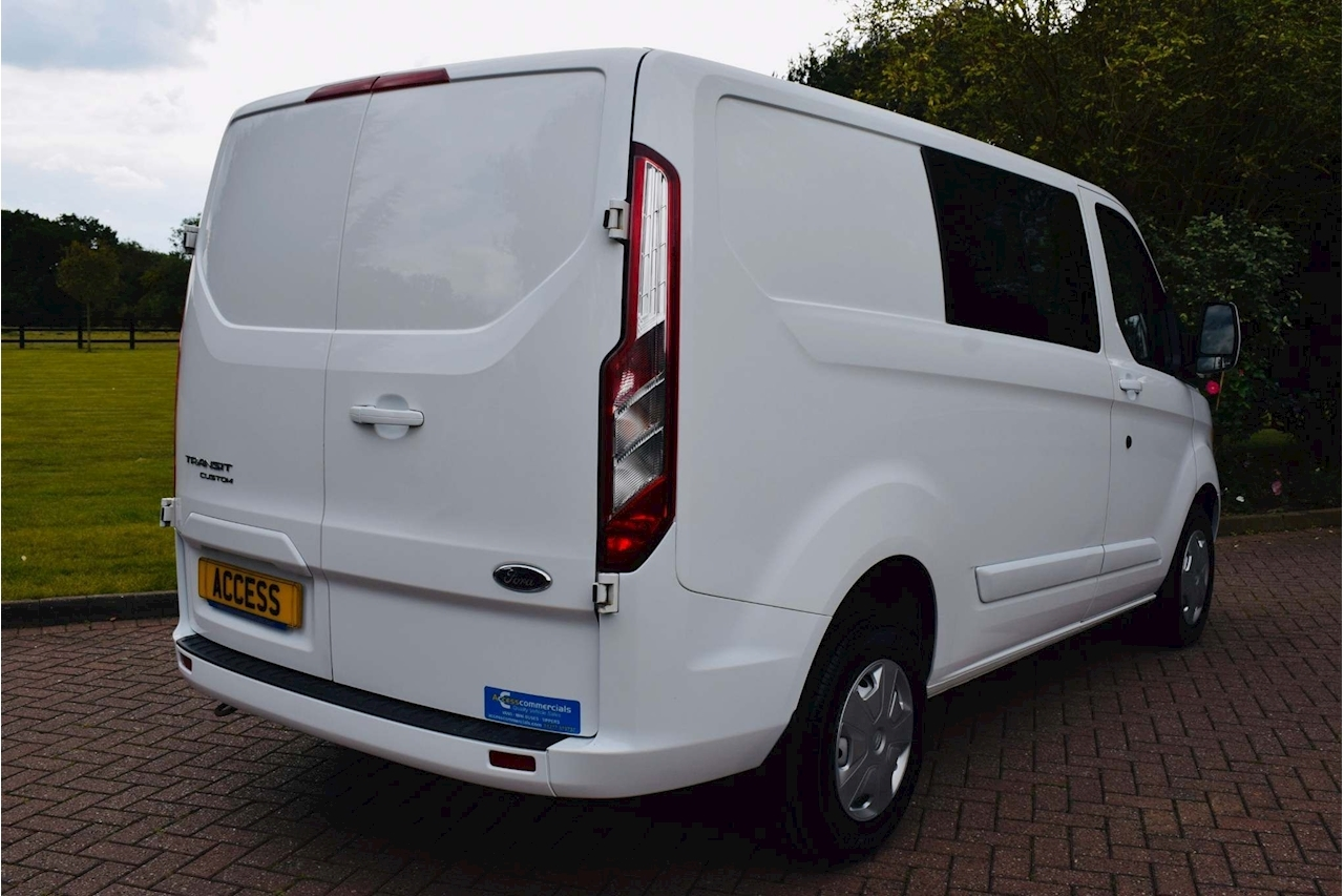 Ford Transit Custom 290 Lr Dcb Panel Van 2.0 Manual Diesel