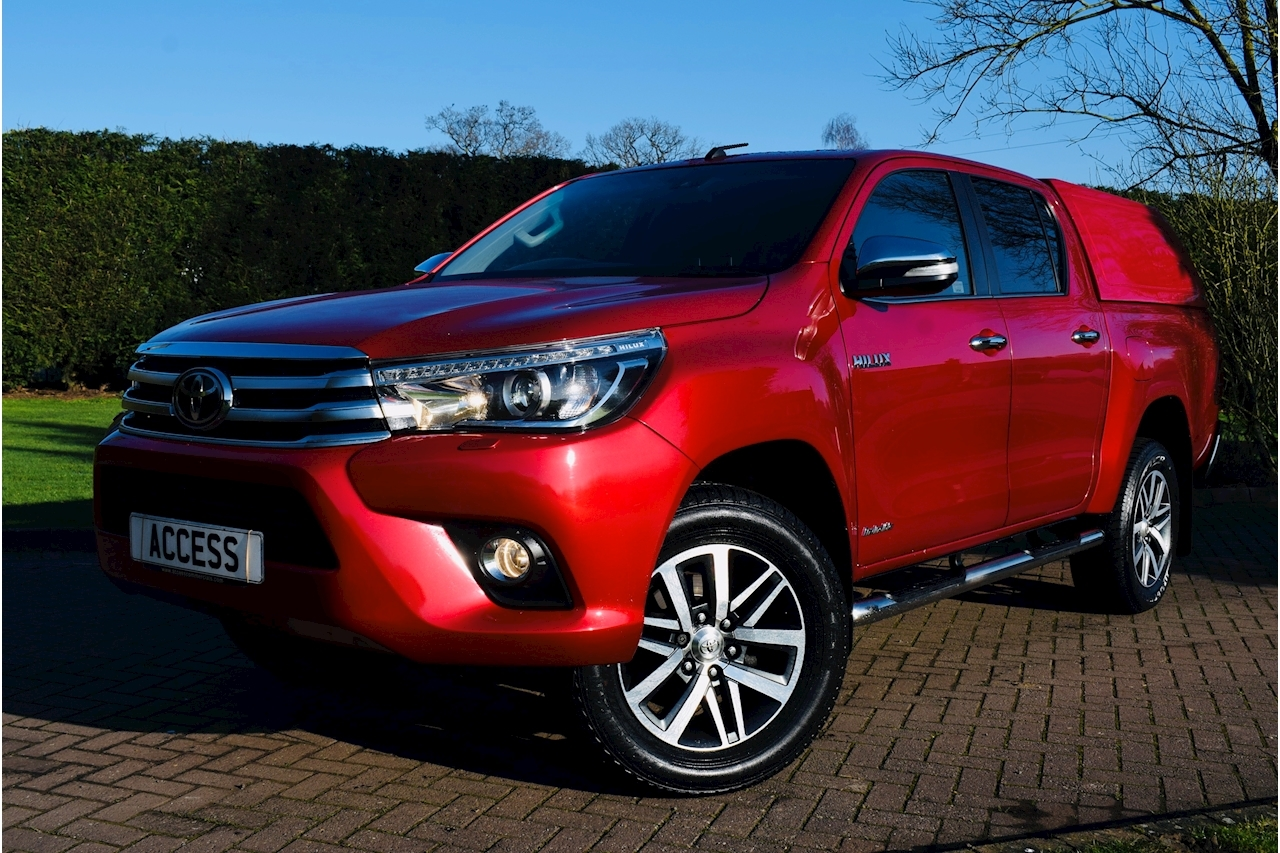 Toyota Hilux Invincible 4Wd D-4D Dcb Light 4X4 Utility 2.4 Manual Diesel
