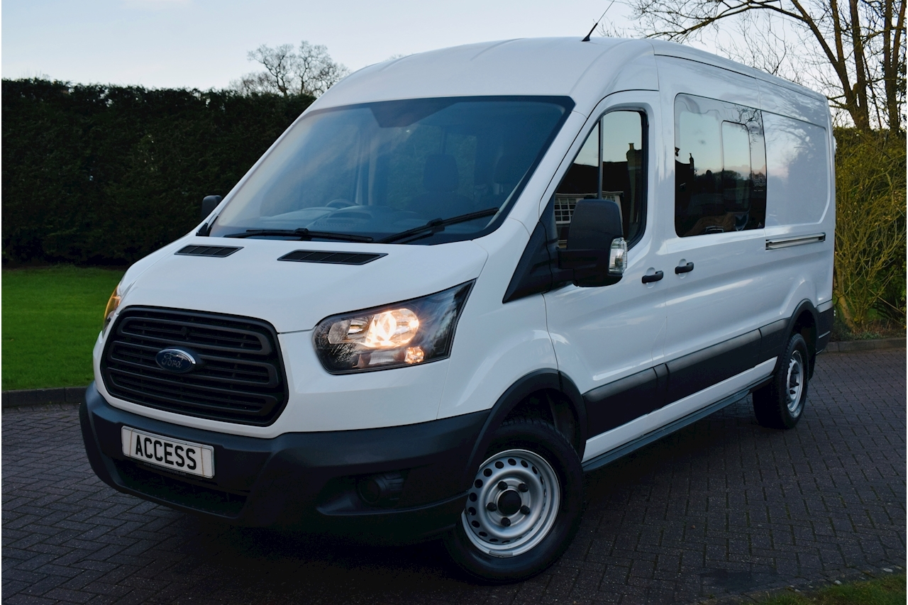Transit 350 L3 H2- 6 seater crew van- euro 6 for london - 2.0 Manual Diesel