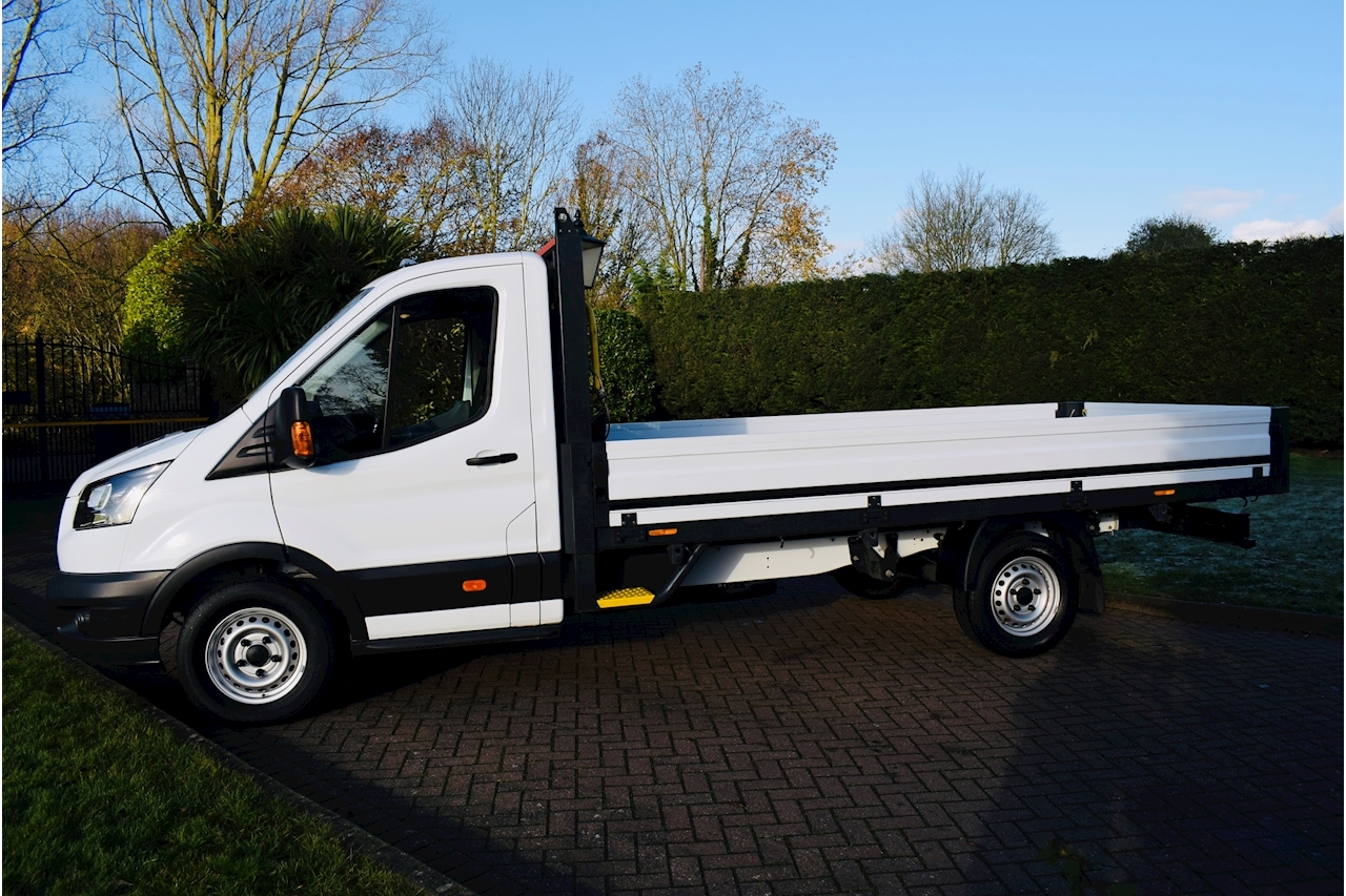 Ford Transit 350 L5  Dropside  2.0 Manual Diesel 14ft alloy  euro 6 srw