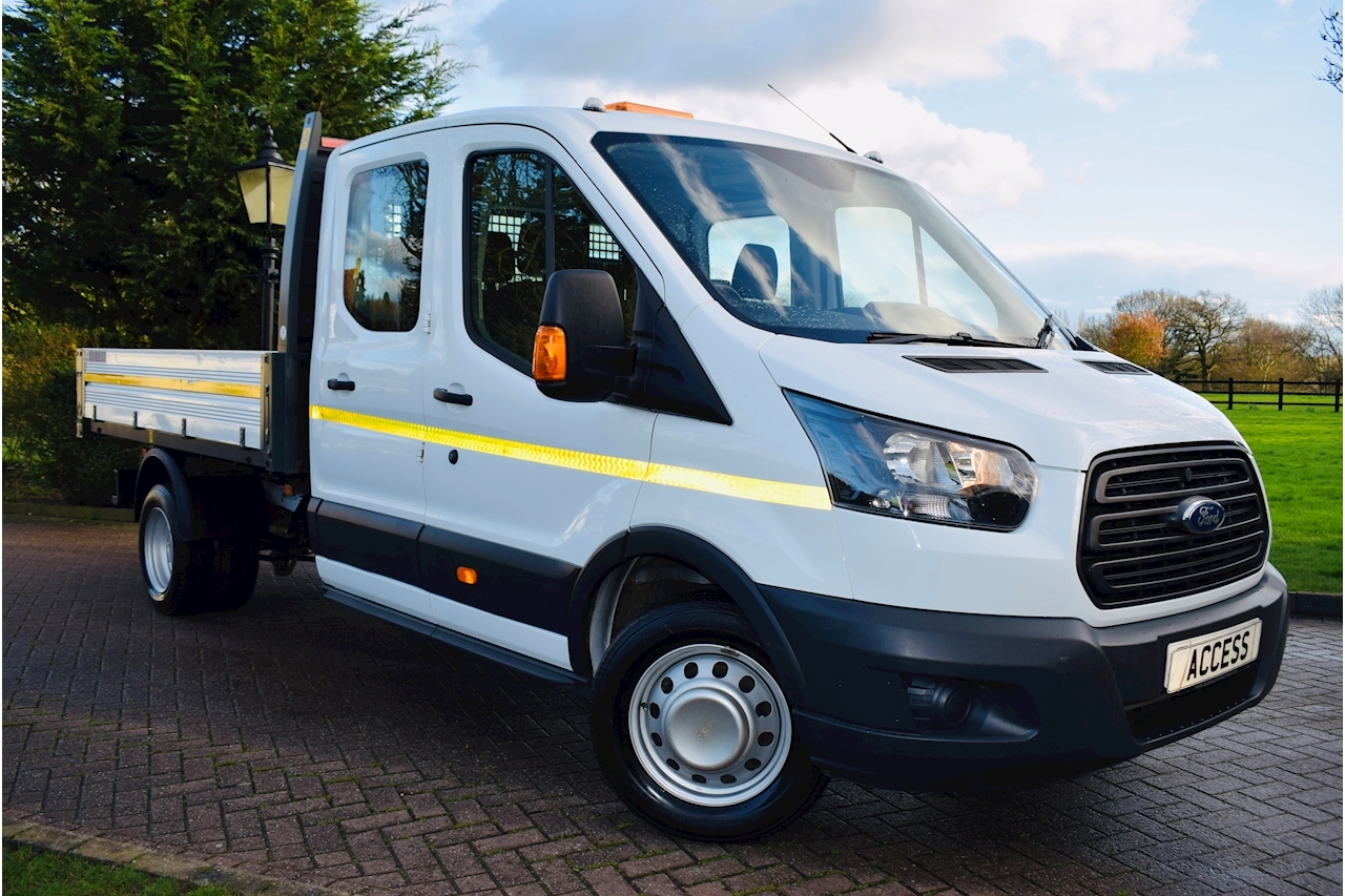 Ford Transit 350 L3 H2  Drw  7 seater Tipper 2.0 Manual Diesel euro 6