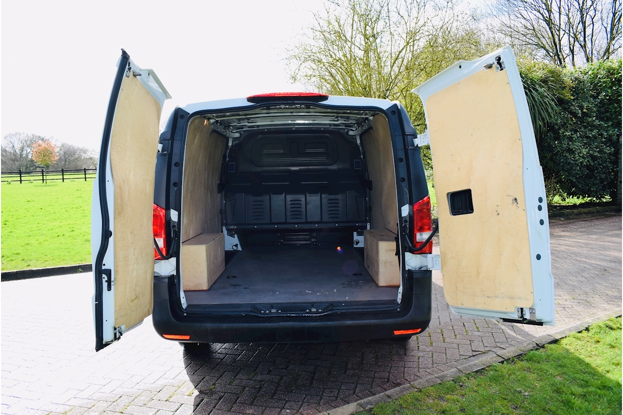 Mercedes-Benz Vito 111 Cdi Panel Van 1.6 Manual Diesel lwb euro 6 twin side doors