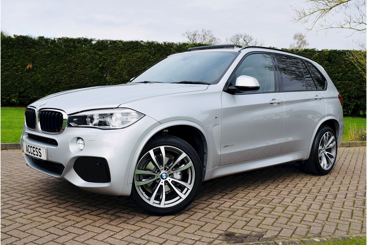 BMW X5 Xdrive30d M Sport Estate 3.0 Automatic Diesel air con