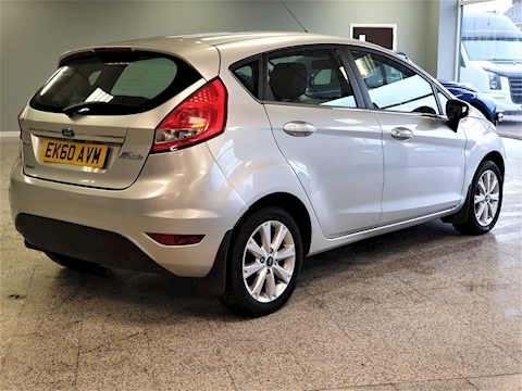 Fiesta Zetec 1.4 5dr Hatchback Manual Diesel