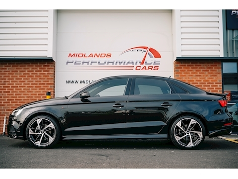 A3 Black Edition Saloon 1.5 S Tronic Petrol